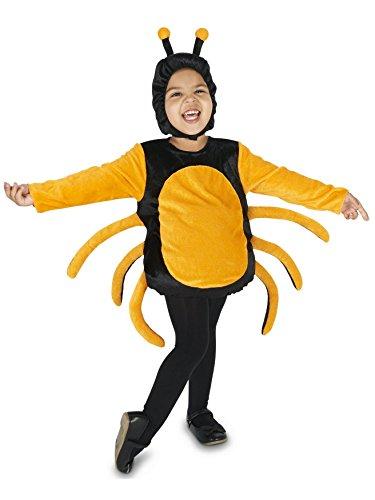 Dream Weavers Costumers Black Orange Spider Child Costume ()