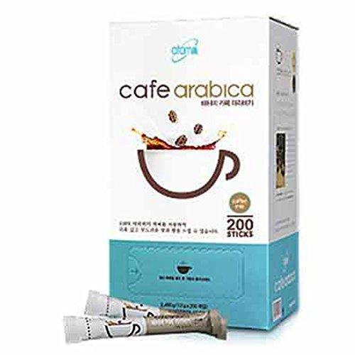 [Atomy] 200 Sticks Cafe Arabica Instant coffee mix Arabica Coffee & Natural Casein
