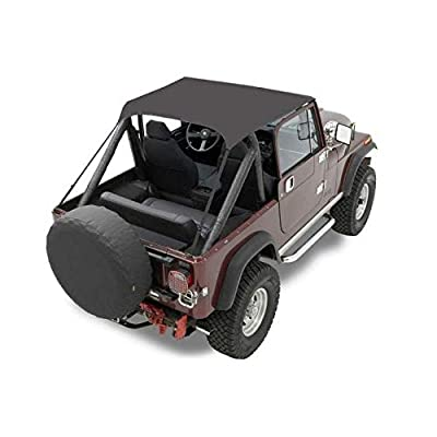 Bestop 52507-01 Black Crush Traditional Bikini Top for 1976-1983 CJ-5: Automotive