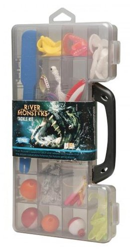 River Monsters Deluxe Tackle Kit, 137 Piece, Outdoor Stuffs