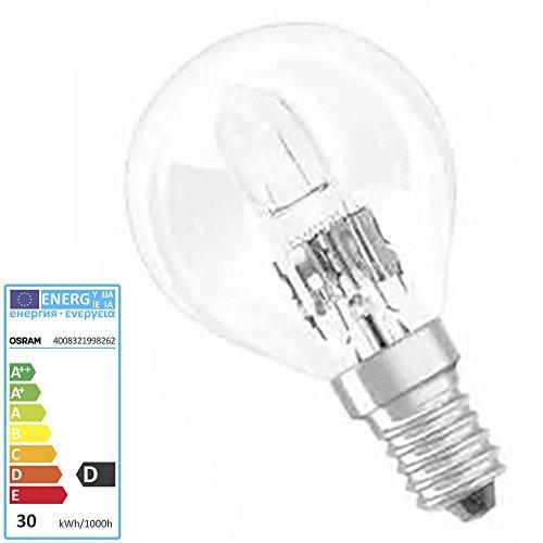 OSRAM ampoule HALOGENE ECO CLASSIC P, 30 watts, E14