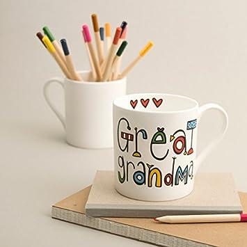 great grandma mug amazon co uk kitchen home