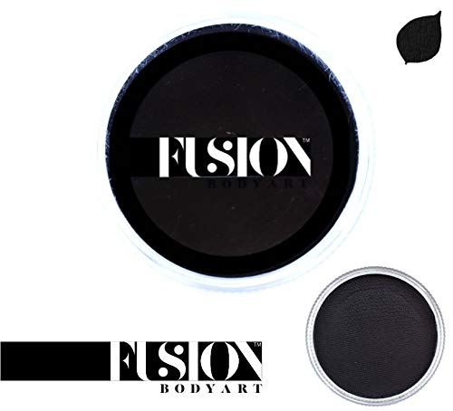Fusion Body Art Face Paint - Prime Strong Black 32gr ()