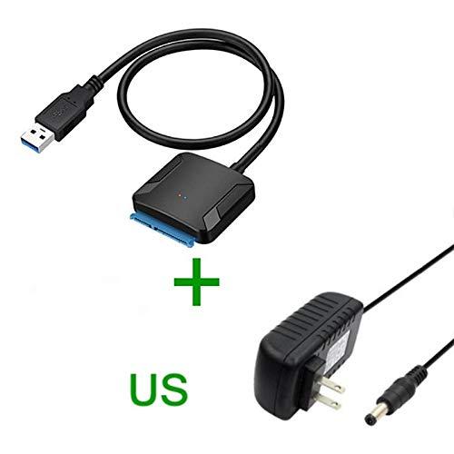 YOUQING - Cable Adaptador SATA a USB 3.0 para Disco Duro SSD de 2 ...