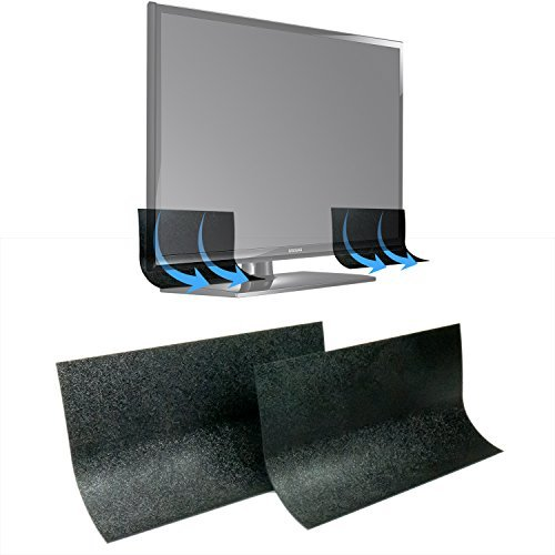 TV Speaker Passive Amplifier Set: Redirect Home Theater Sound Toward You, Not the Floor Without a Costly Soundbar. Improve Sound Clarity. Great Gift Idea for Mom, Dad, Audiophiles & Seniors