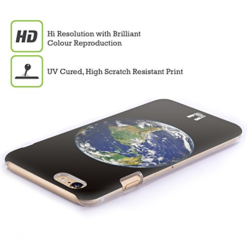Head Case Designs Terra Spazio Aperto Cover Retro Rigida per Apple iPhone 6 / 6s