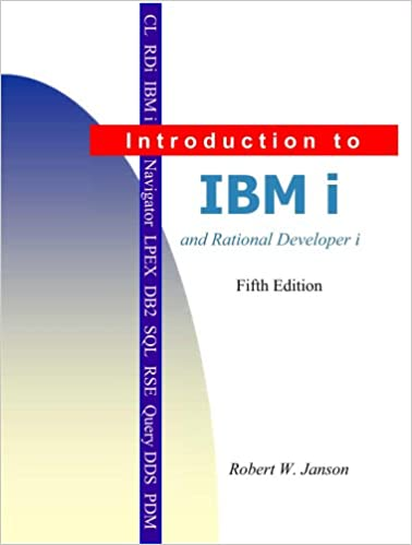 Amazon Introduction To Ibm I And Rdi 9780966422153 Robert W