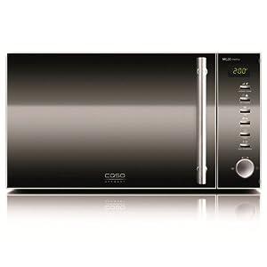CASO MG20 menu Design Mikrowelle 2in1 / Edelstahl / 800 Watt Mikrowelle /...