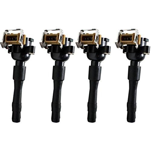 Diften 610-C0141-X01 - New Lots of 4 Ignition Coils 540 740 750 840 850 5 Series E53 X5 BMW E38 7 740iL