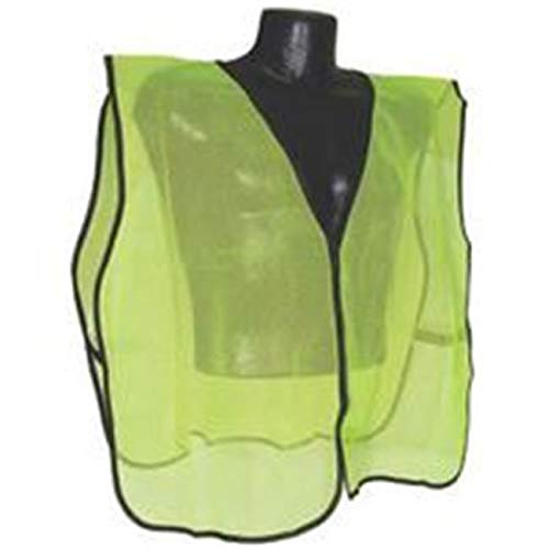 Zoey Addison Vest Safety Nonrate Mesh Green SVG