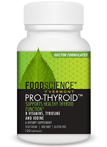 FoodScience Vermont Pro Thyroid Function Capsules product image