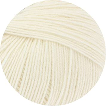 Lana Grossa Cool Wool Wolle Kreativ 432 ecru 50 g Fb