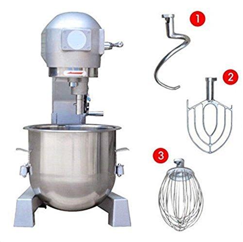 20L Commercial Dough Mixer Egg Beater Automatic Bakery Dough Food Mixer 220V / 50Hz