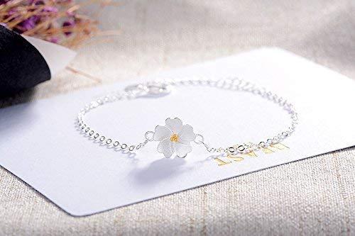 Women Cherry Blossoms Bracelet for Women Girls Present