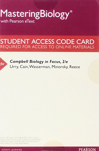Download MasteringBiology With Pearson EText Valuepack