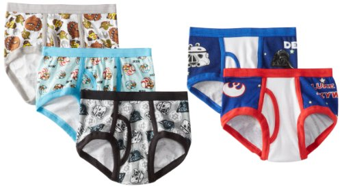 Angry Birds Star Wars Brief 5 Pack, Assorted, 6 (Star Wars Angry Birds Tatooine)