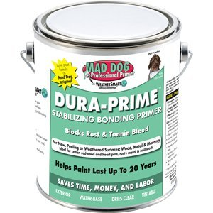 MAD DOG MDP500 5G CLEAR EXTERIOR PRIMER STOPS PEELING RUST AND TANNIN