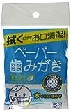 クールウェイブ ペーパー歯磨きセット(30包入り)