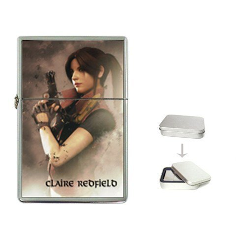 New Order CLAIRE REDFIELD RESIDENT EVIL Flip Top Lighter +Free Gift Box + Free ()