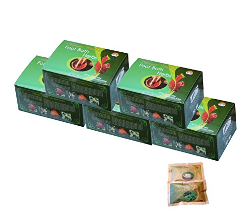 TCM-Head-To-Toe-Pack-5-boxes-Foot-Soak-Herbs-Plus-2-FREE-bags-Mugwort-Bath-Herbs-samples-8-Value