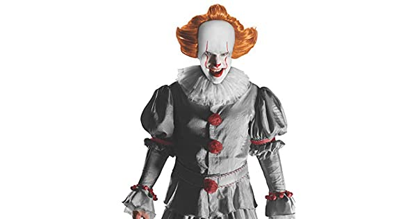 Pennywise IT Movie Wig with Attached Headpiece 34721