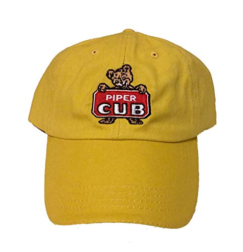 (Vintage Piper Cub Hat (Yellow))