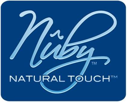 Biber/ón boca ancha con pajita flexible y cepillo Nuby ID1143