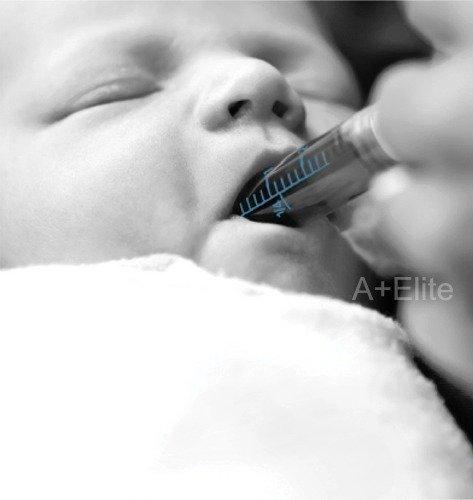 BAXA ExactaMed Oral Liquid Medication Syringe 10cc / 10mL 100/PK Clear Medicine Dose Dispenser With Cap Exacta-Med BAXTER Comar Latex Free by Baxa (Image #4)