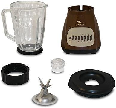 Sytech SY-BV4MR Batidora de vaso eléctrica, 400 W, Marron: Amazon ...