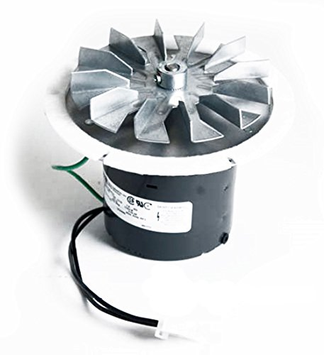 PelletStovePro - Whitfield Advantage I, II, III, Plus Pellet Stove Exhaust Combustion Motor Blower w Housing & Gasket - 12056010, 12126009, ()