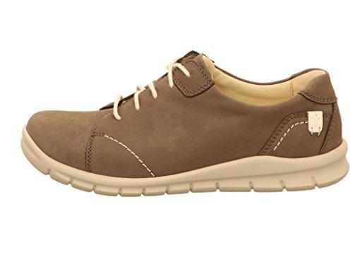088 Waldläufer à Chaussures pour femme 191 lacets Gris 359001 de ville ZUqUwf1