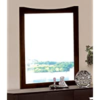 Coaster 5634 Casual Contemporary Mirror, Cappuccino