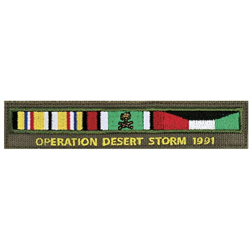 Medals of America Operation Desert Storm Ribbon Bar Name Tape Multicolored