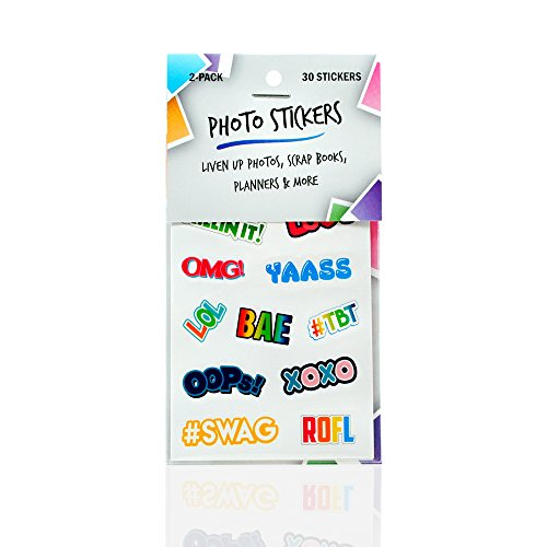 Instax Photo Decorative Stickers 2 pack