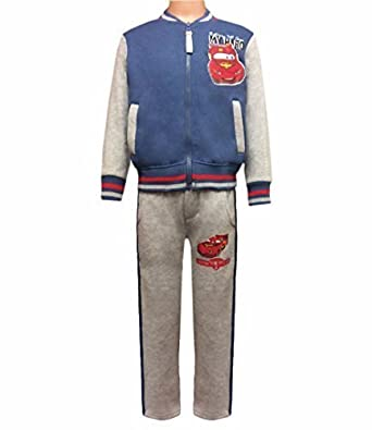 ca325f1af Disney Cars Lightning McQueen Kids Tracksuit Jogging Suit Grey 98cm, 2-3  Years: Amazon.co.uk: Clothing