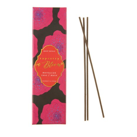 Rosy Rings Moroccan Rose & Mate Incense ()
