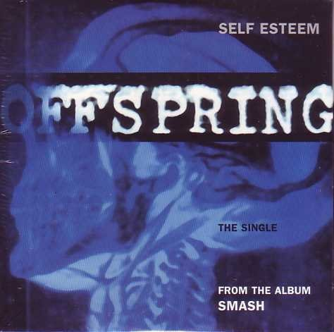 Self esteem 3-track CARD SLEEVE CD single - Bengals Card