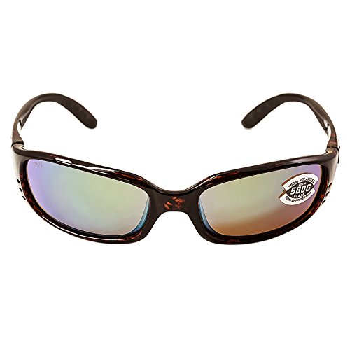 Costa Del Mar Brine Sunglasses Tortoise/Green Mirror