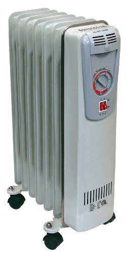 Comfort Zone Deluxe Oil Filled Radiator Heater  CZ7007