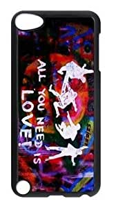 Beatles Hard Plastic Protective Cover Case For IPOD Touch 5 5th Generation (WCA Custom Designed)
