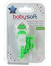 Baby Soft Desenli Emzik Askısı Karma Renk Kod:543