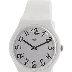 Swatch Gesso SUOW153 Matte White Silicone Quartz Fashion Watch