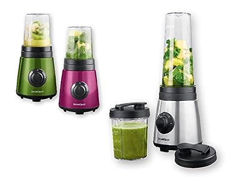 Licuadora calentador zumos + 2 vaso a llevar verde: Amazon.es: Hogar