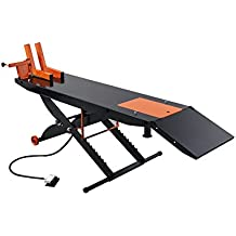 "APlusLift 1500LB Air Operated 24"" Width ATV Motorcycle Lift Table (Free Service Jack, Free Home Delivery)"