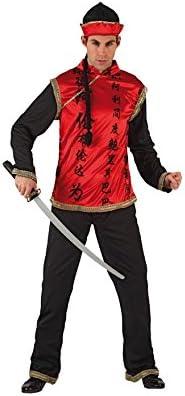 Disfraz de chino para hombre: Amazon.es: Juguetes y juegos