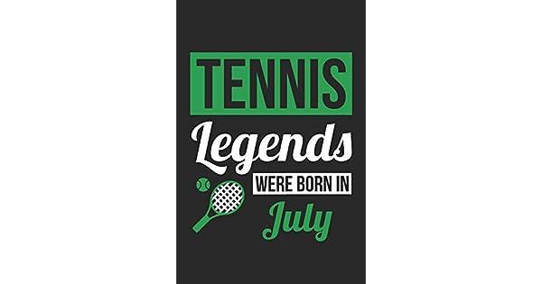 Tennis Legends Were Born In July - Tennis Journal - Tennis
