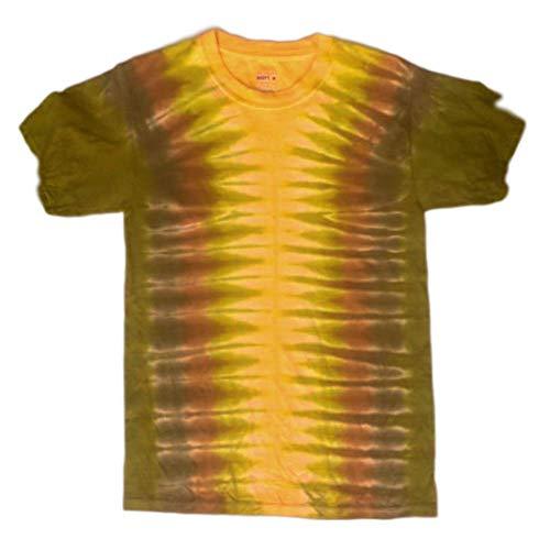 Amazon.com: Tie Dye Tshirt - Autumn Colors S: Handmade