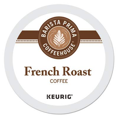 Barista Prima Coffeehouse Coffee, Keurig K-Cups, French Roast, 24- Count