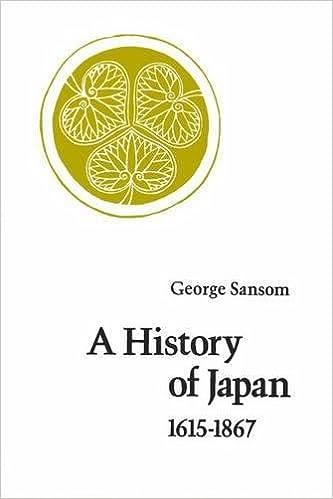 A History Of Japan, 1615-1867 Epub Descarga gratuita