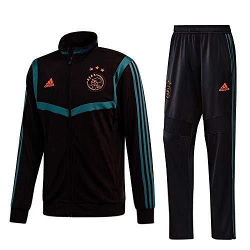 adidas 2019-2020 Ajax PES Tracksuit (Black) - Kids